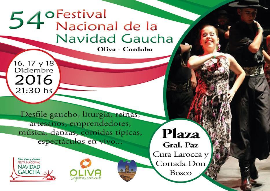 Presentación de la Fiesta Nacional de la Navidad Gaucha