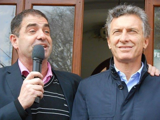 Tamis y el presidente Mauricio Macri nuevamente juntos