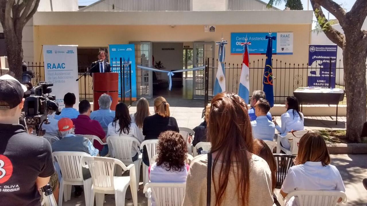 Inauguración del Centro Asistencial 25