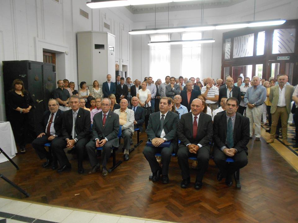 100 años del Banco Nación en la ciudad de Oliva