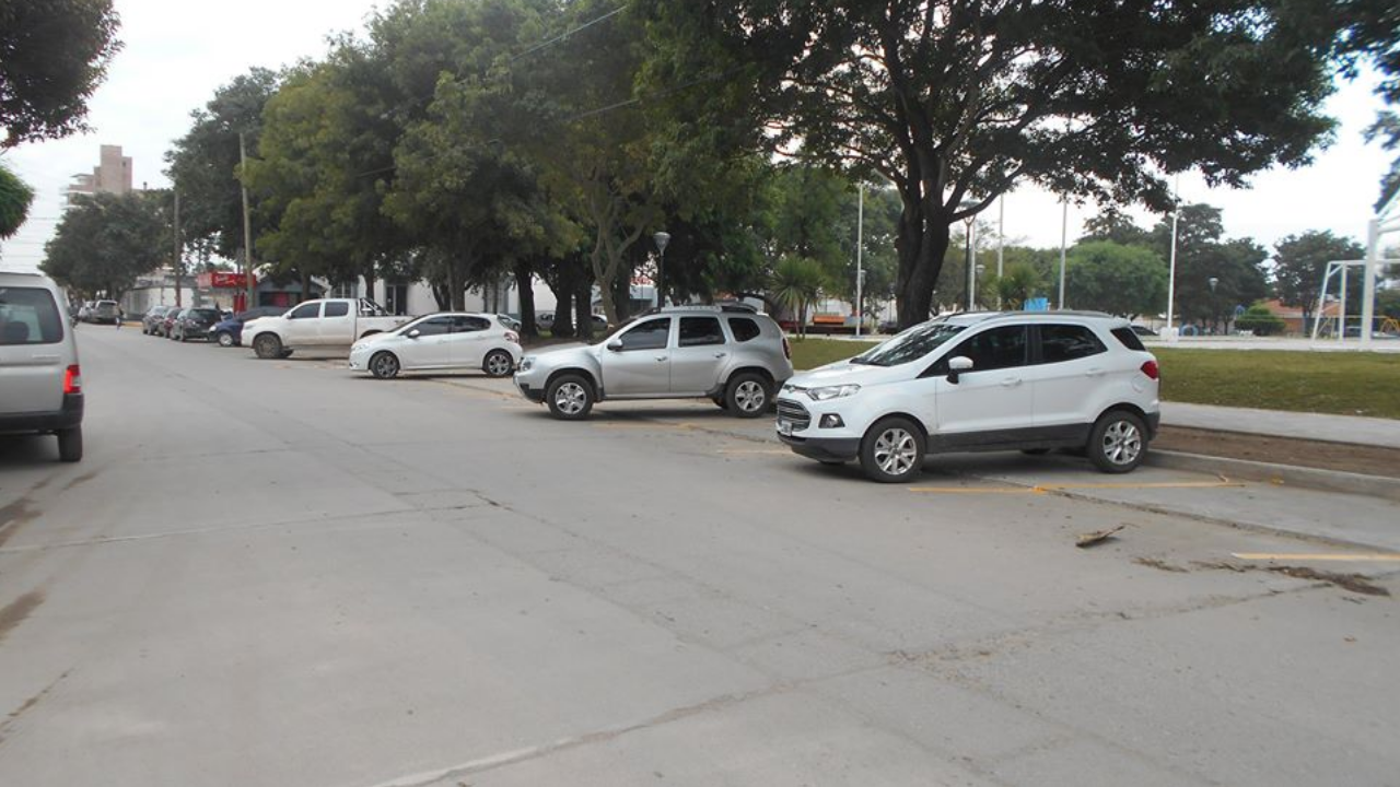 Estacionamiento en Plaza Independencia