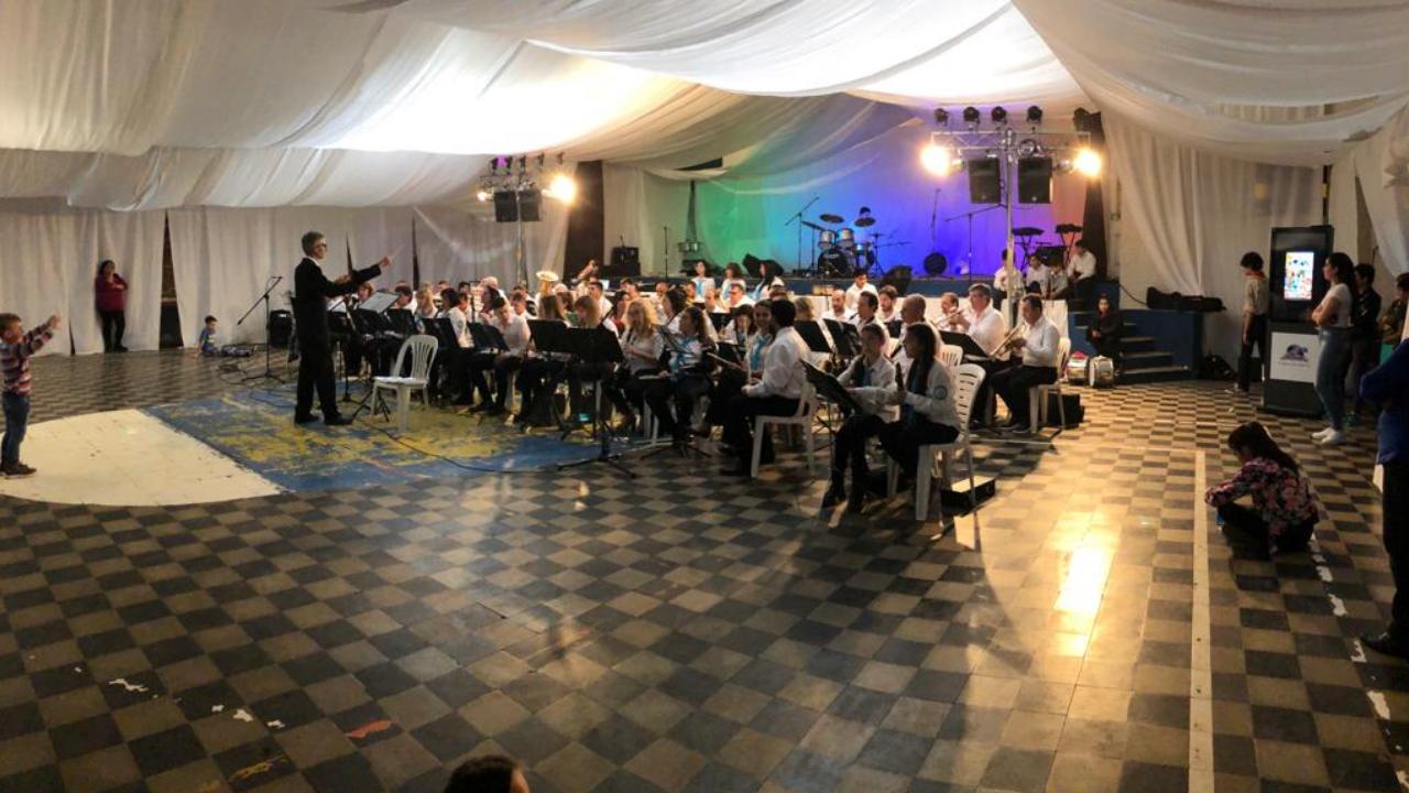 Primera gran fiesta de la Banda de Música