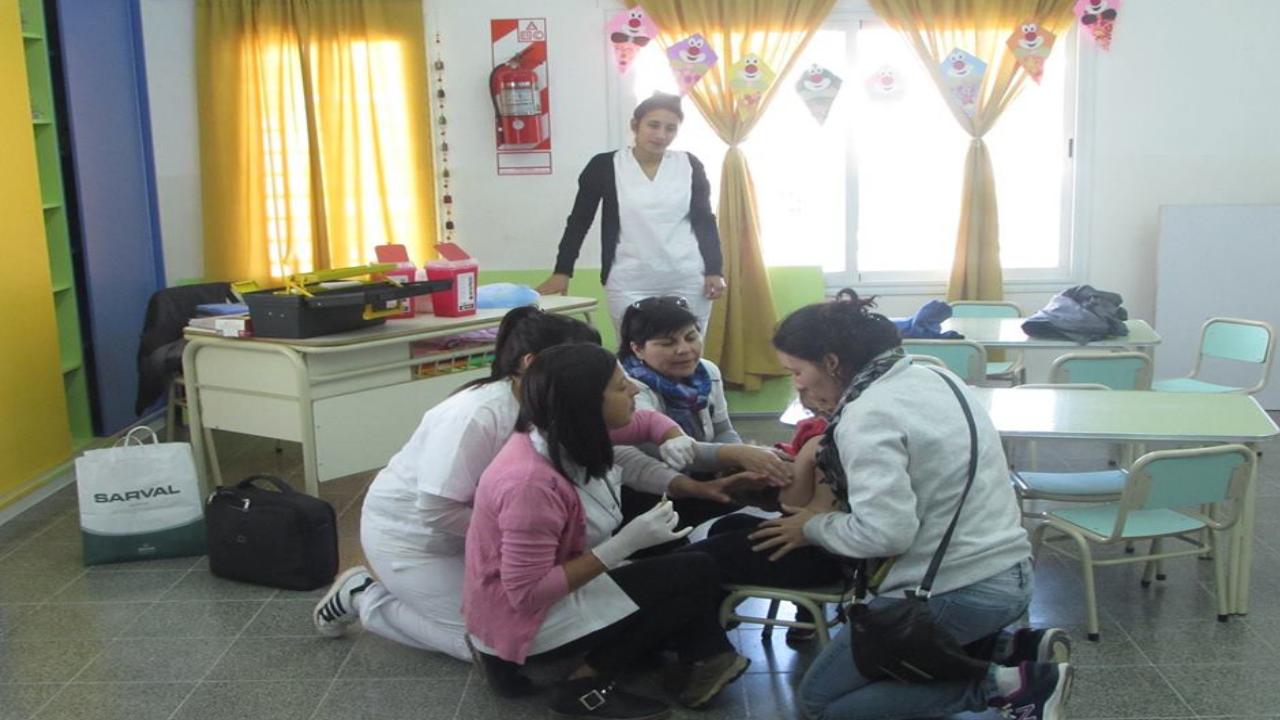 Campaña Nacional de Vacunación contra la Rubéola y el Sarampión