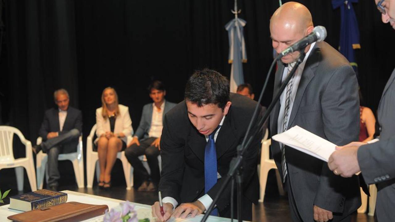 César Beltramone será Concejal de la ciudad de Oliva