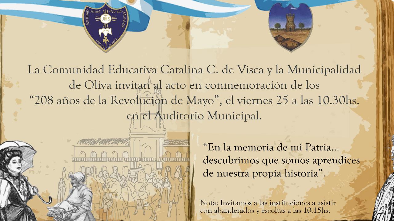 208 años de la Revolución de Mayo