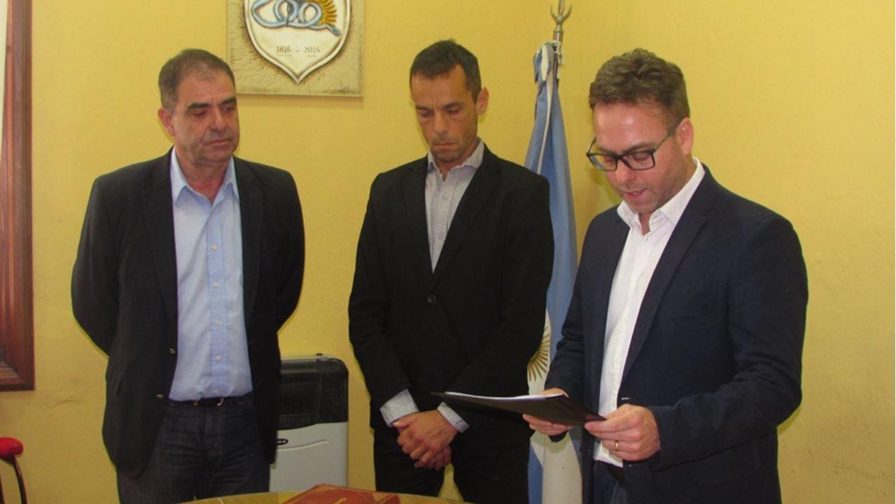 Nuevo Juez de Faltas de la Municipalidad de Oliva