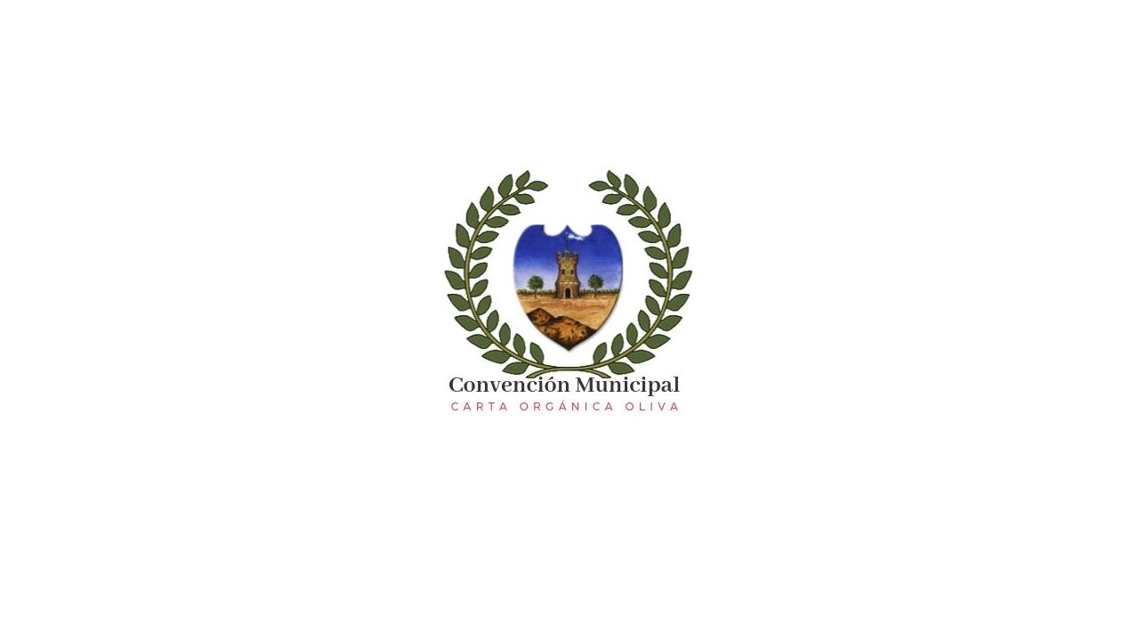 Sesión de la Convención Municipal