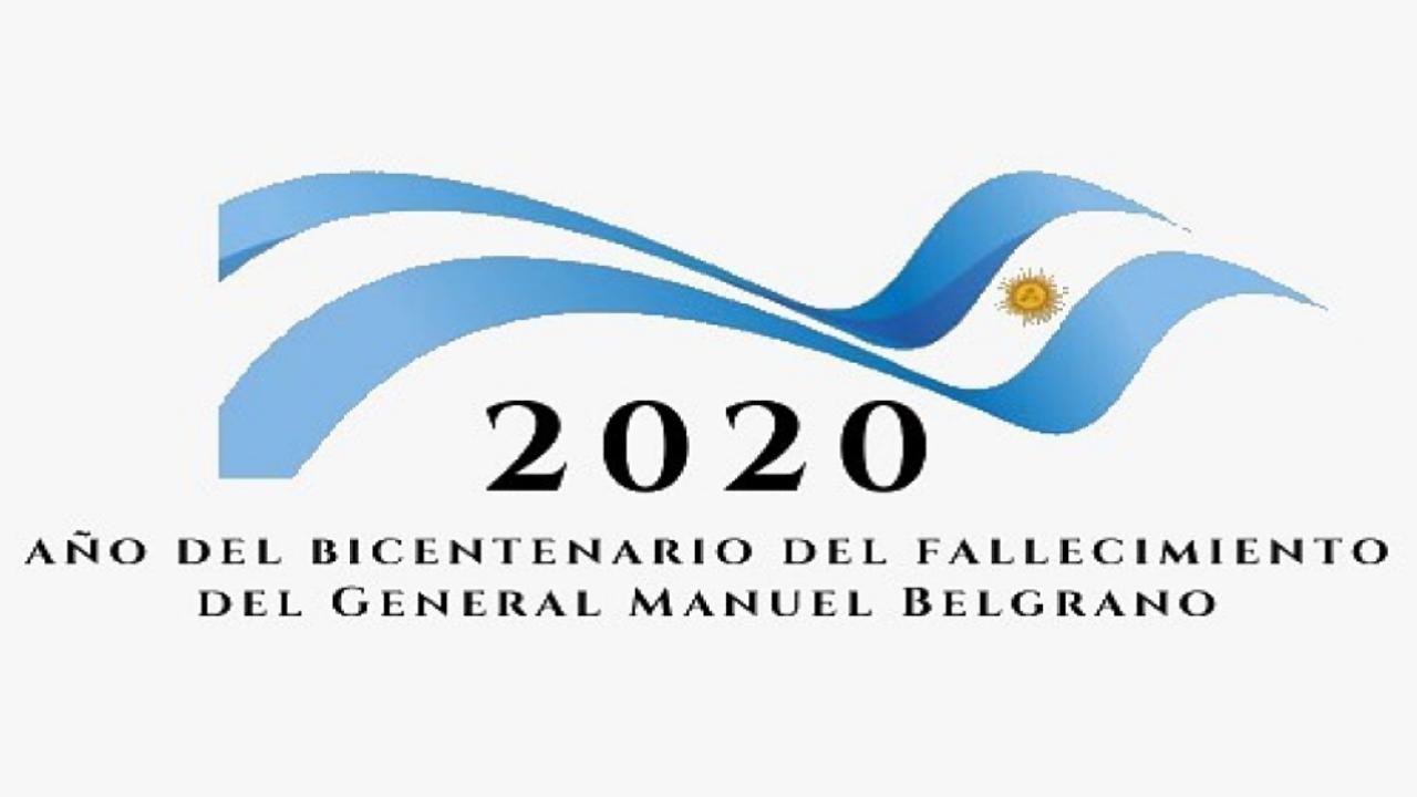 Logo Bicentenario del fallecimiento de Belgrano
