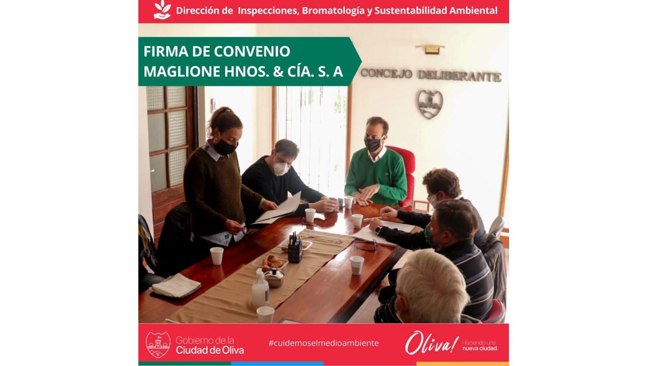 convenio firma Maglione hnos y cia s.a