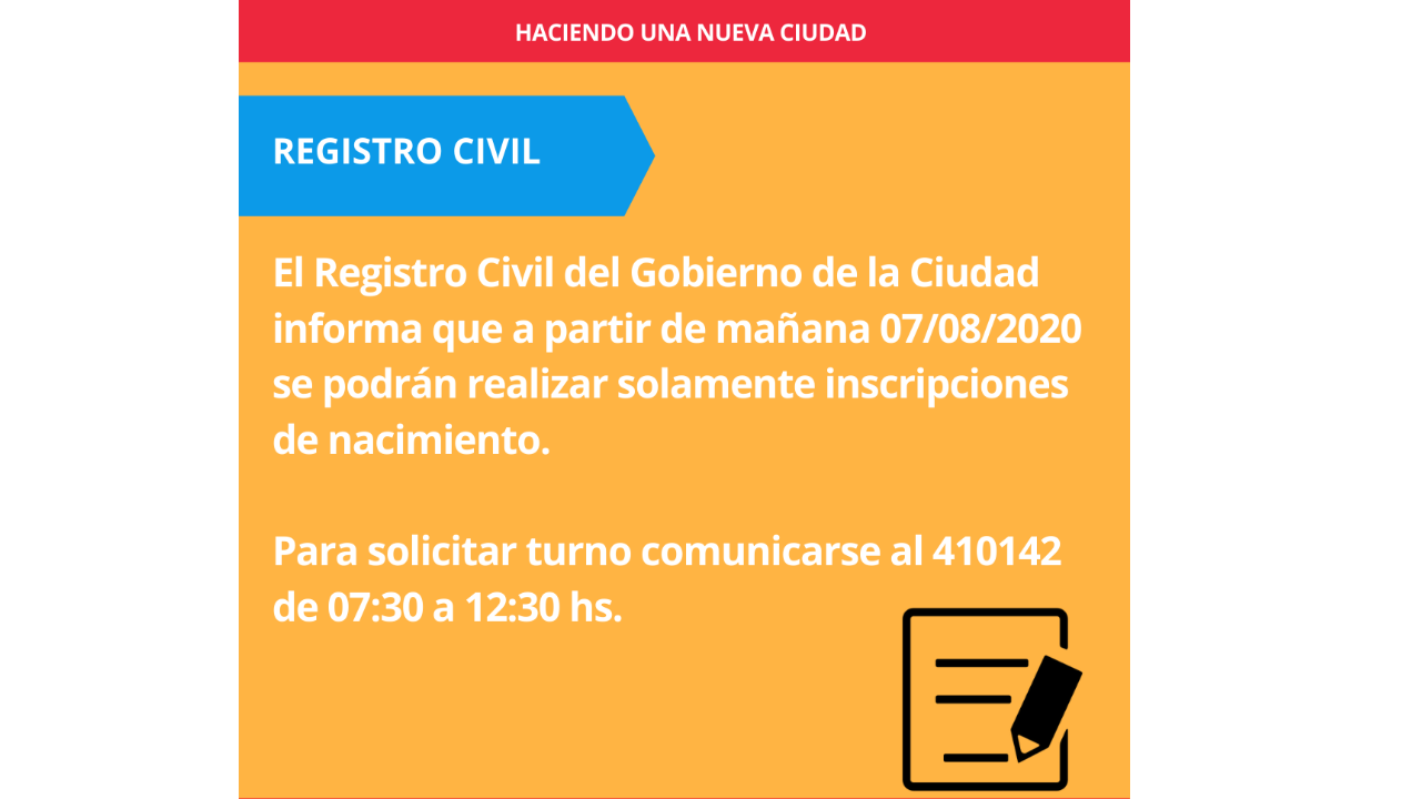 Registro Civil Oliva